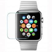 2 Adet Apple Watch 42mm Kavisli Temperli Şeffaf Cam Ekran Koruyuc
