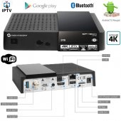 Novacom Spybox S10 Uhd 4k Android Set Top Box