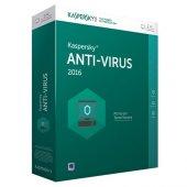 Kaspersky Antivirüs Programı 1 Kullanıcı 1 Yıl Kutulu (2016 2017)