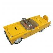 1956 Ford Thunderbird Motor Max 1 24 Model Araba