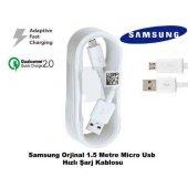 Samsung Galaxy A5 2016 Hızlı Şarj Kablosu Micro Usb Şarj Data Tra
