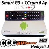 Atlanta Smart Serisi Android Klavyeli Kumanda Orijinal