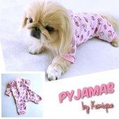 Pembe Penye Tulum Pyjamas By Kemique