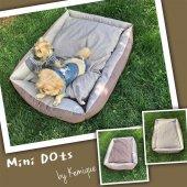 Mini Dots Köpek Minderi By Kemique Köpek Yatağı