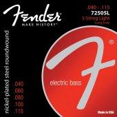 Fender 7250 Nps 7250 5m 045 125 Bass Takım Tel