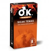 Okey Sıcak Temas Prezervatif 10&#039 Lu Paket