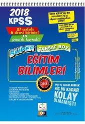 2018 Kpss Eğitim Bilimleri Süper Çarşaf Boy Ders Notları Pratik K