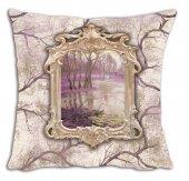 Mrs Pillow Andrea D 10 Desenli Kırlent 70x70cm Ebadında