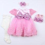 Pugi Bgo2 Pembe Bebek Özel Gün Elbisesi