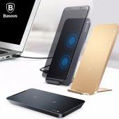 Iphone 8 Note 8 S8 S7 Edge Kablosuz Şarj İstasyonu Baseus Orijnal