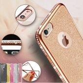 Samsung Galaxy S6 Edge G925f Kılıf Swarovski Taşlı Laser Silikon