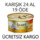 Nestl� Proplan Purina Gourmet Gold Karışık Kedi Konserve 24 Adet