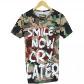 Bpm Erkek T Shirt Camo Smile Now 2017