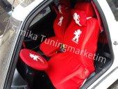 Peugeot Pejo Ön Ve Arka Servis Koltuk Kılıf + 4 Li Yastık Hediye