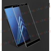 Samsung Galaxy A5 2018 4d Kavisli Kırılmaz Cam Ekran Koruyucu