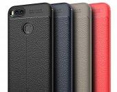 Xiaomi Mi A1 Kılıf Kap Nish Silikon Kapak + Kırılmaz Cam Ekran Koruyucu