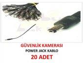 20 Adet 5,5*2,1 Dc Power Jack Kablosu Güvenlik Kamerası İçin