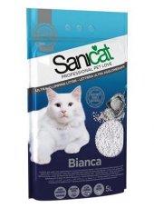 Sanicat Bianca Bentonit Ultra Topaklaşan Kedi Kumu 5 Lt