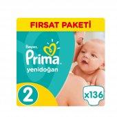 Prima Aktif Bebek Fırsat Paket 2 Beden 108 Adet