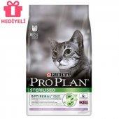Pro Plan Sterilised Kisirlaştirilmiş Kediler Için Tavuklu Ve Hindili Kedi Mamasi 3 Kg