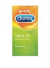 Durex Tahrık Et 12lı Prezervatıf Ekstra Uyarıcı Tırtıklı 12lı Pr