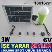 Solar Panelli Güneş Enerjili Aydınlatma Sistemi 2