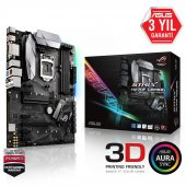 Asus Intel Strıx H270f Gamıng H270 Ddr4 2133 Glan 1151p 7 Usb3.1
