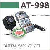 Ataba At 998 Dijital Göstergeli Pil Şarj Ve Deşarj Cihazı Araç,ev