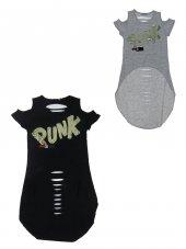 Tomurcuk Bebe Kız Payet Baskılı Tişört