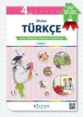 Bilfen 4.sınıf Türkçe Konu Anlatımlı Yardımcı Fasikül Set