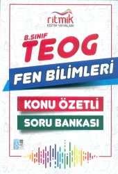 Ritmik Yayınları 8.sınıf Fen Bilimleri Konu Özetli Soru Bankası