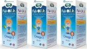 Nbl Fish Oil Jr. Çocuk Balık Yağı 150 Ml 3 Kutu Skt 08 2019