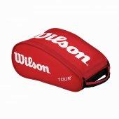Wilson Tour Kırmızı Ayakkabı Tenis Çantası Cnttnswıl055