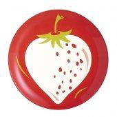 Luminarc Fruity Energy Çilek Desenli Tatlı Tabağı 20,5 Cm 6lı Set