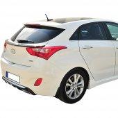 Hyundai İ30 Yeni Kasa Cam Altı Spoiler (Boyalı)