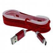 Gigaset Me Pure Type C Halat Kopmaz Kablo Şarj İp Örgülü 3 Al 2 Öde