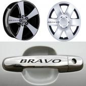 Fiat Bravo Kapı Kolu Jant Sticker
