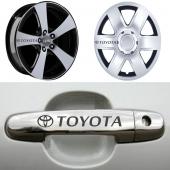 Toyota Kapı Kolu Jant Sticker