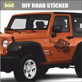 4x4 Off Road Arslan Oto Sticker