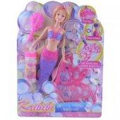 Barbie Bebek Baloncuk Atan Deniz Kızı Mekanik