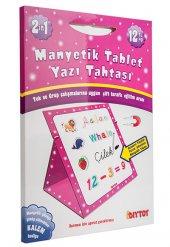 Manyetik Tablet Yazı Tahtası Pembe Diytoy