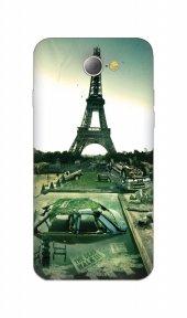 General Mobile Discovery E3 E7 2 Mini Elite Air Kılıf Yıkık Eyfel
