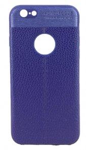 Fitcase İphone 6 6s Auto Focus Tpu Arka Kapak Mavi