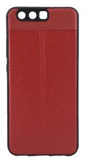Fitcase Huawei P10 Auto Focus Tpu Arka Kapak Kırmızı