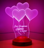 3d Led Lamba Kalpler Klasik Kişiye Özel