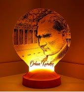 3d Görünümlü Atatürk Anıtkabir Led Lamba