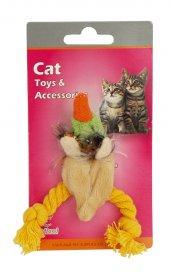 Eastland Kedi Otlu Hışır Peluş Ördek 9 Cm