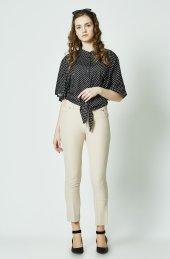 Bayan Pantalon 5 Ceplı Kot Model Vucudu Saran