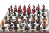 Satranç Takımı, K. Osmanlı Ve Kırmızı Haçlılar, Po...