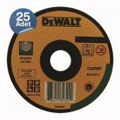 Dewalt Dwa4524cfa 25 Adet 180x2,5mm Metal Taşlama Diski Bombeli